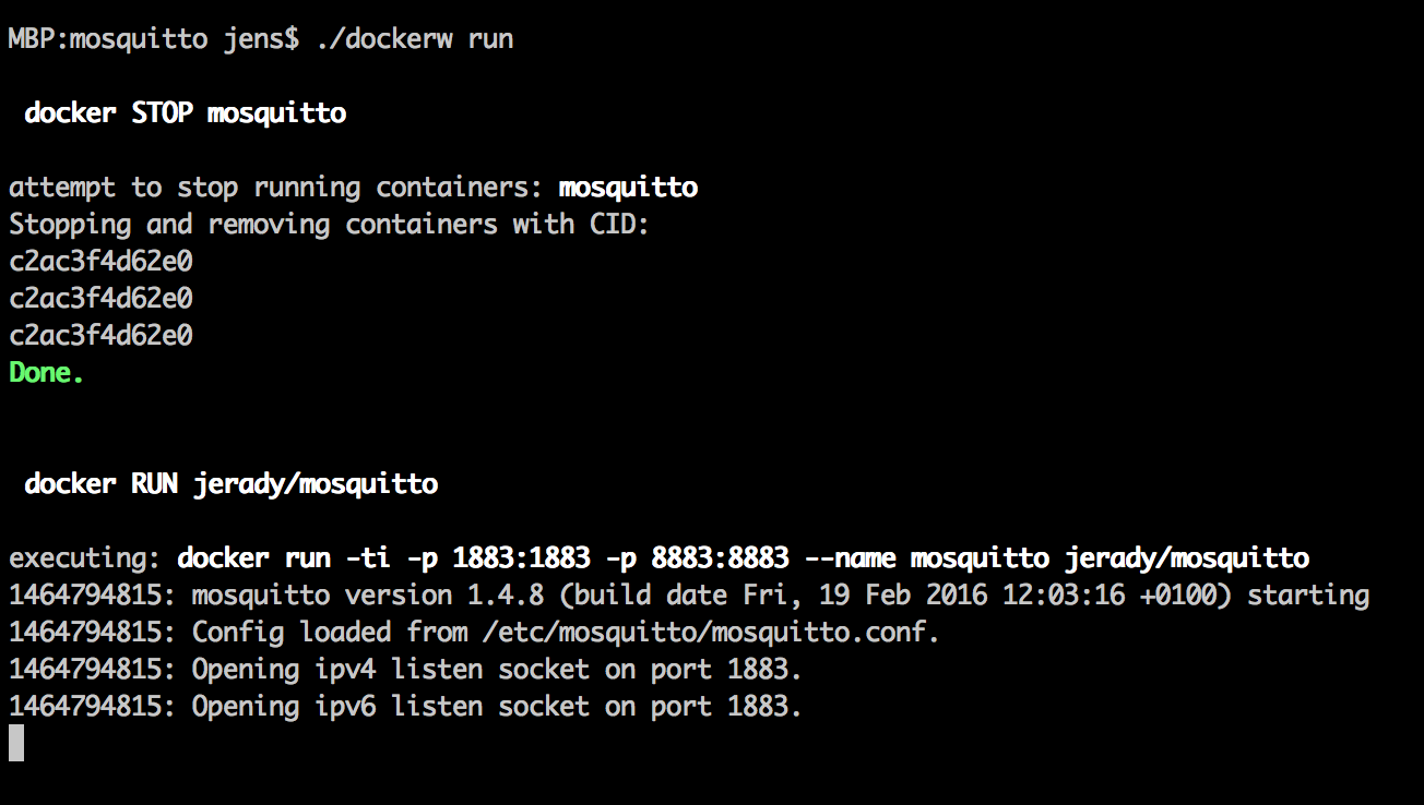 dockerw – A simple Docker command wrapper for the rest of us
